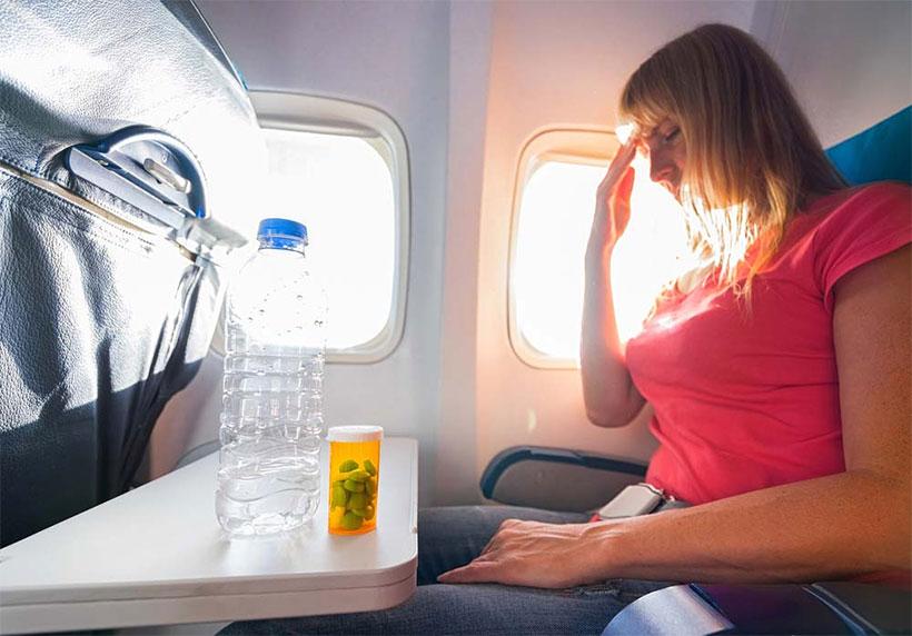 uçak basıncan kulak korumak